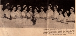 How many of our classmates can you identify at this 1961 nurses' pinning ceremony?