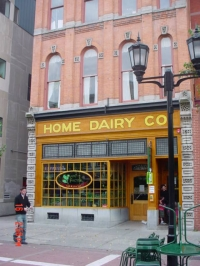 Home Dairy on State Street next to the original FW Woolworth store
