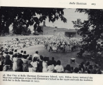 Belle Sherman May Day Celebration- photo from Dewitt Historical Society's book on Ithaca's neighborhoods