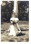 Mary Avery, May Queen at East Hill School