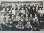 Danby School 1954 Grades 5 & 6 (IHS 1960 & 1961). Courtesy of the Class of '61. They labeled it as follows:1st row sitt