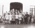 Cayuga Heights Elementary School- Grade 4. Circa 1951. Photo courtesy of Suzie Hough.