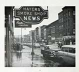 Mayer's Smoke Shop ( books, magazines, newspapers, tobacco products, candy....)