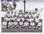 Camp Comstock, ca 1953  Some of these girls are from outside Ithaca. Our apologies to classmates who aren't identified