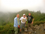 Keith Bruckner, Ron Winchell, and Dave Wilson in June 2011, Great Smoky Mountain National Park.