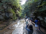 Classmates took advantage of a perfect hiking day to visit the Robert Tremen State Park.