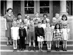 South Hill School, Grade Two, Circa 1949-1950. Photo courtesy of Richard Owlett