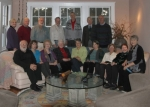 The 2013 mini reunion at Robert Gray's