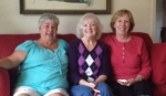 Sharon Grover, Susie Hough and Sandy Young met in Florida to catch up on old times.