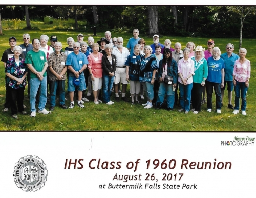 Class of 1960's 75th Birthday Bash, August 2017, Upper Buttermilk Falls State Park